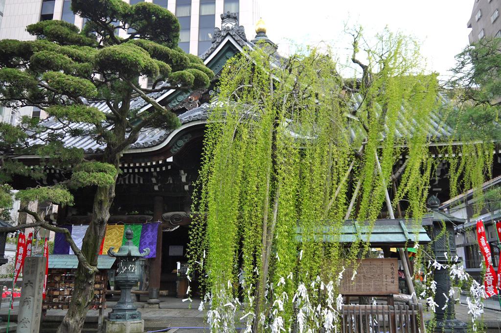 六角堂(頂法寺)の写真素材