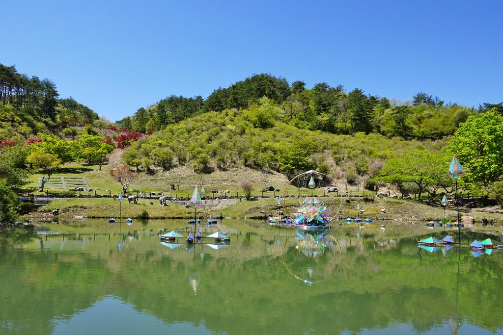 るり渓の写真素材