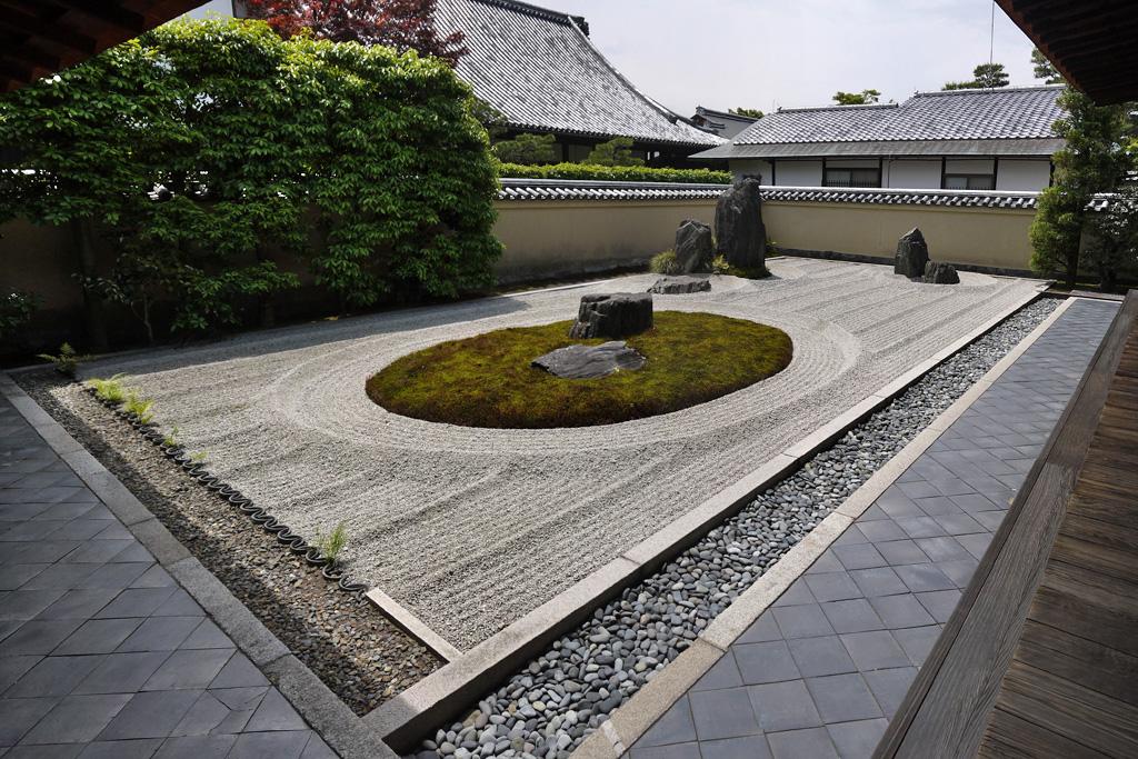 大徳寺 龍源院の写真素材