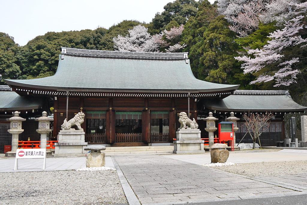 京都霊山護国神社の写真素材