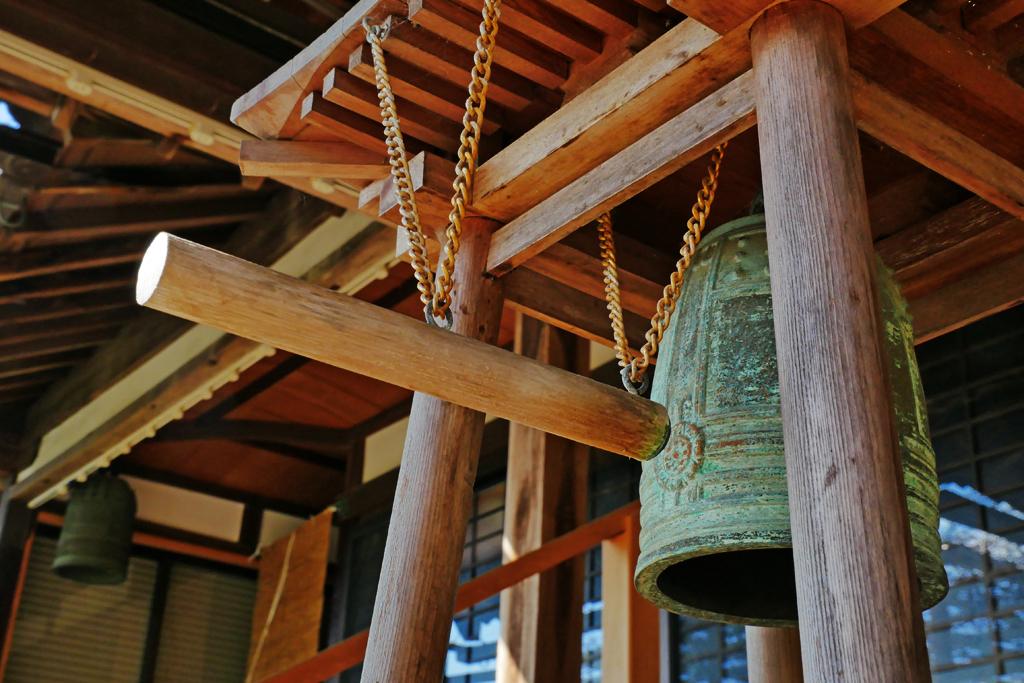 青谷 龍福寺の写真素材