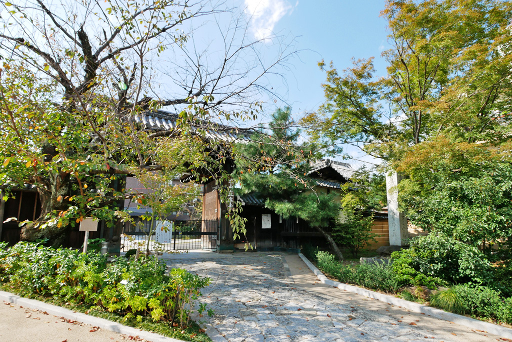 立本寺の写真素材