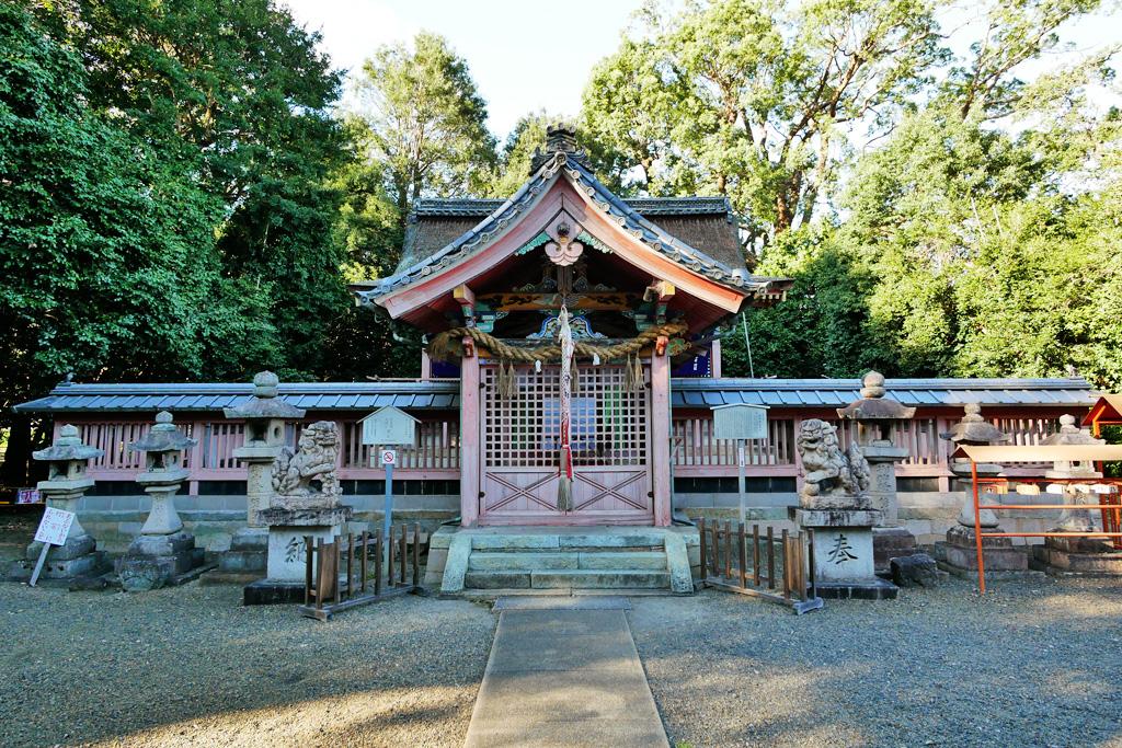 雙栗神社の写真素材