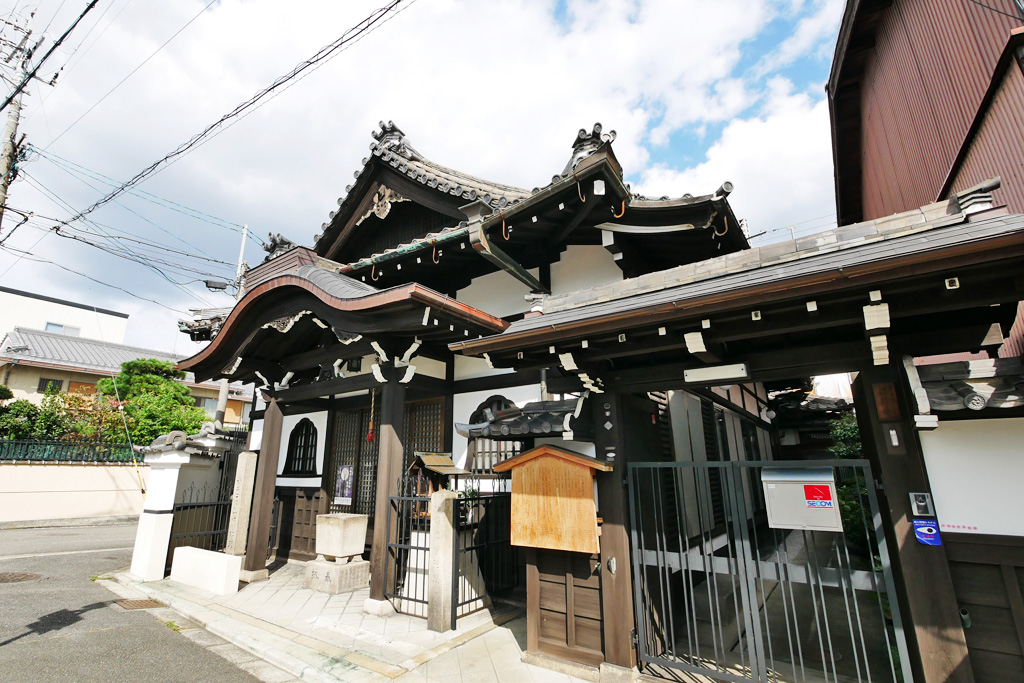 西福寺(西九条)の写真素材