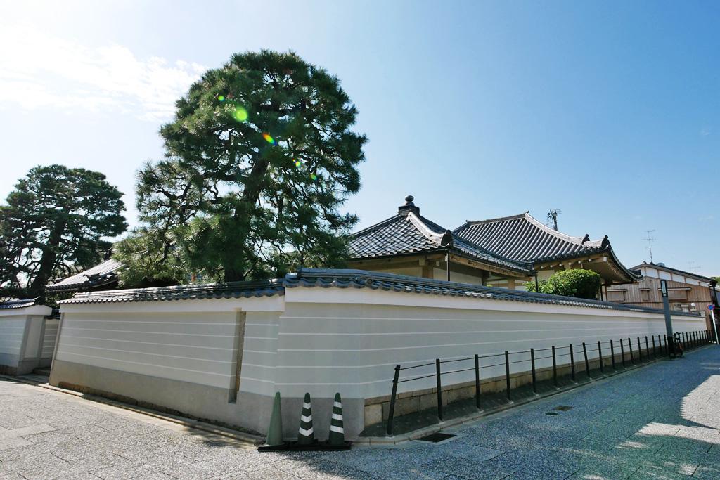 西方尼寺の写真素材