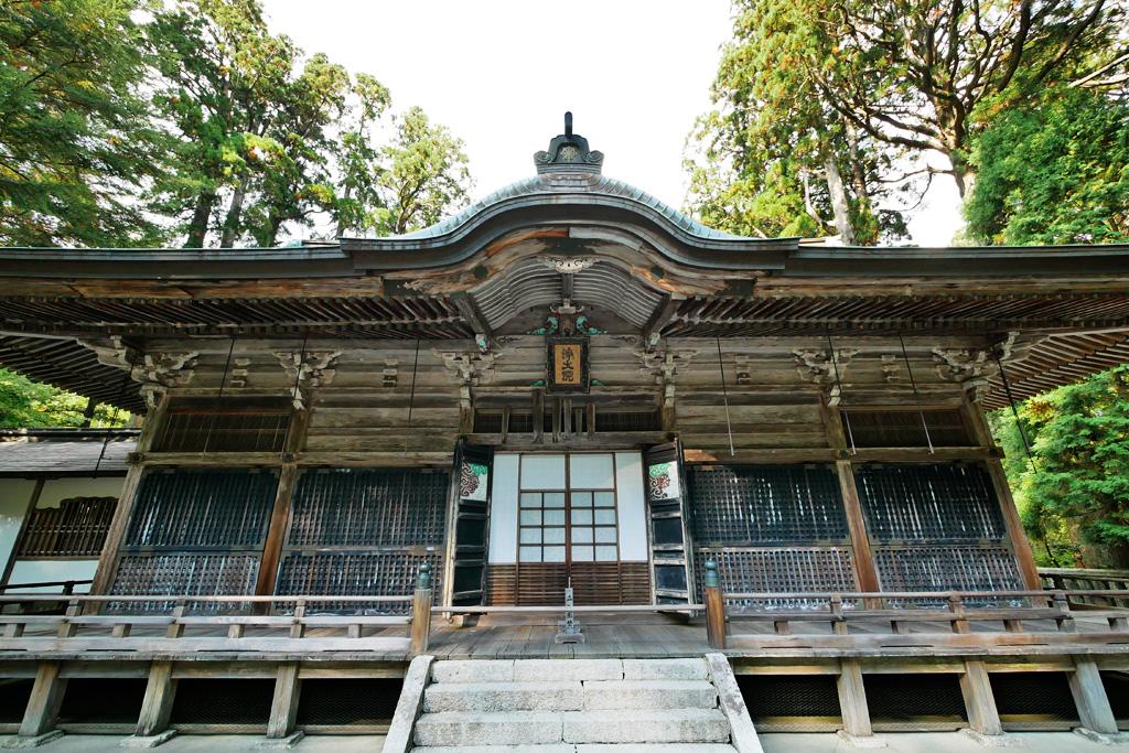 比叡山延暦寺 西塔川の写真素材