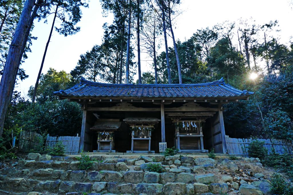 酒解神社の写真素材