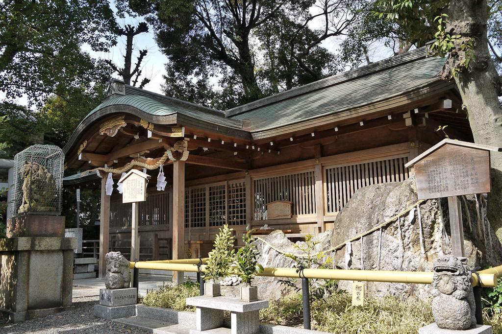 山王神社の写真素材