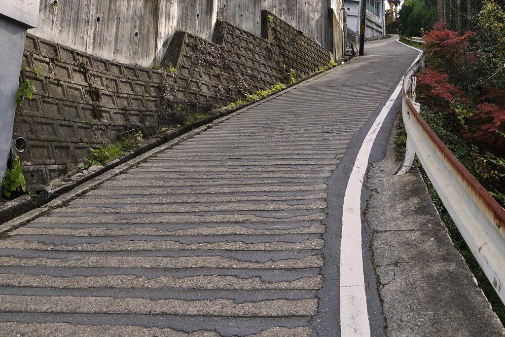 鷹ヶ峰 千束坂の写真素材