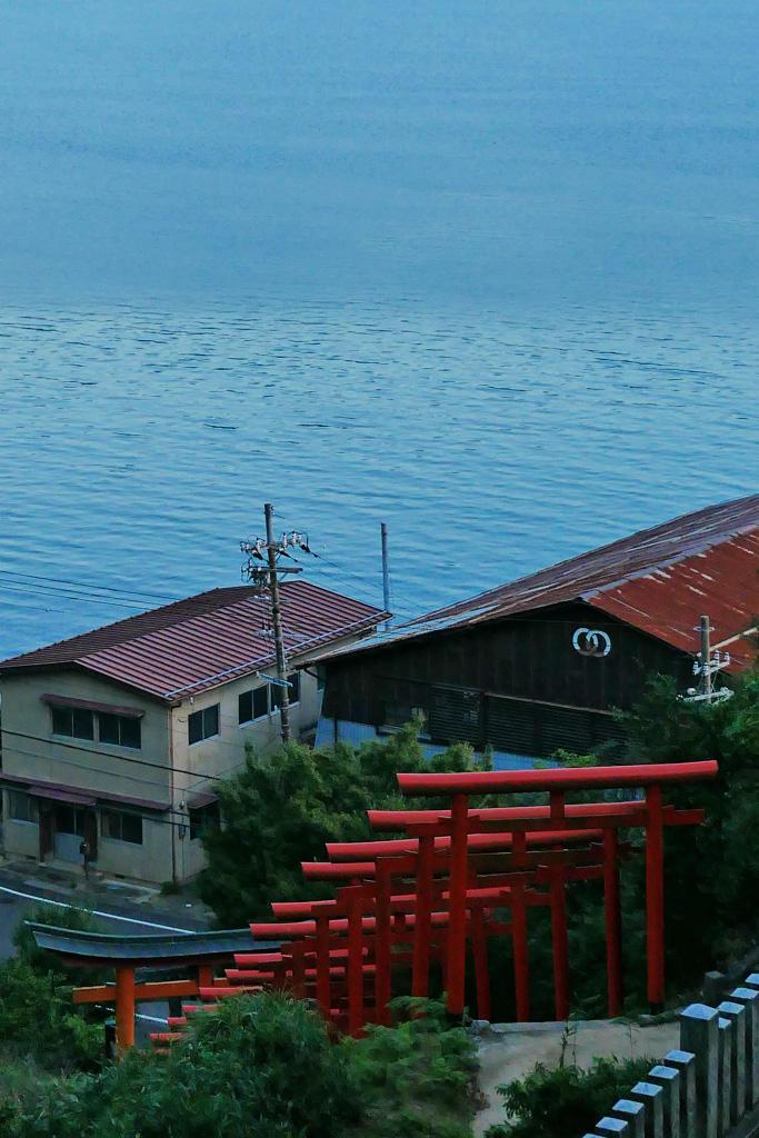 獅子崎稲荷神社の写真素材