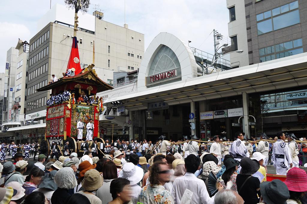 寺町京極 四条通の写真素材