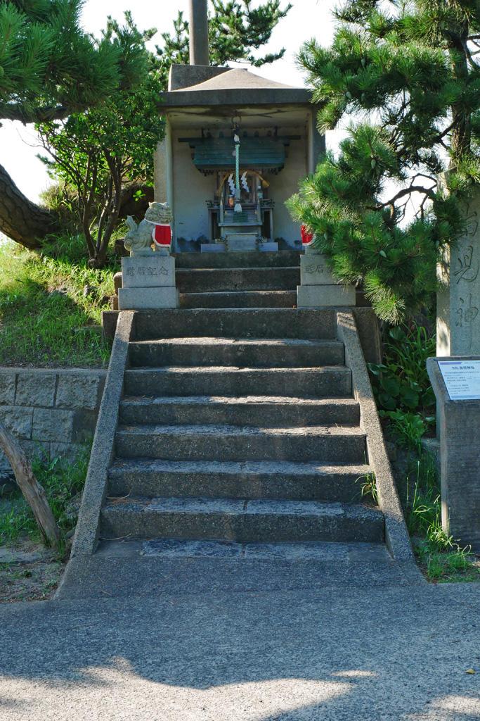 嶋児神社の写真素材