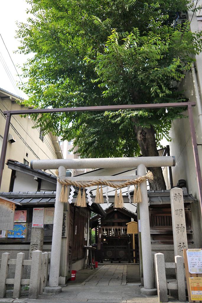 神明神社の写真素材