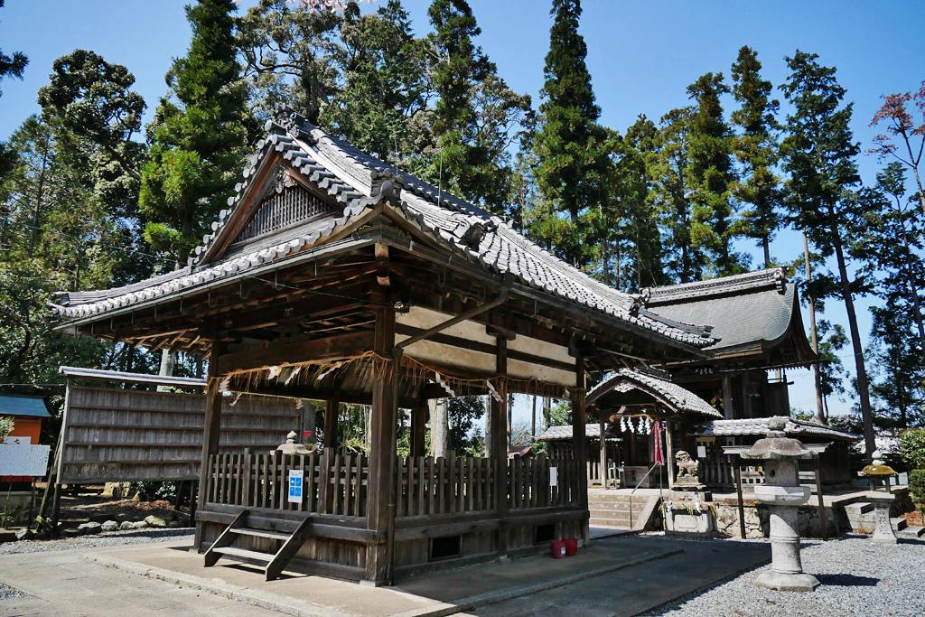 篠村八幡宮の写真素材