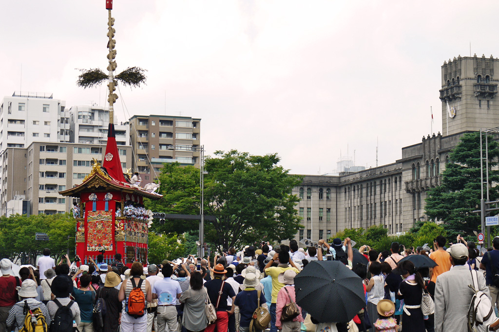 京都市役所の写真素材