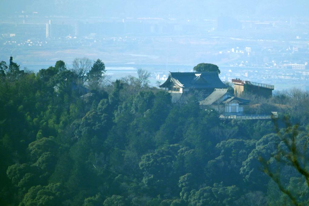 将軍塚青龍殿の写真素材