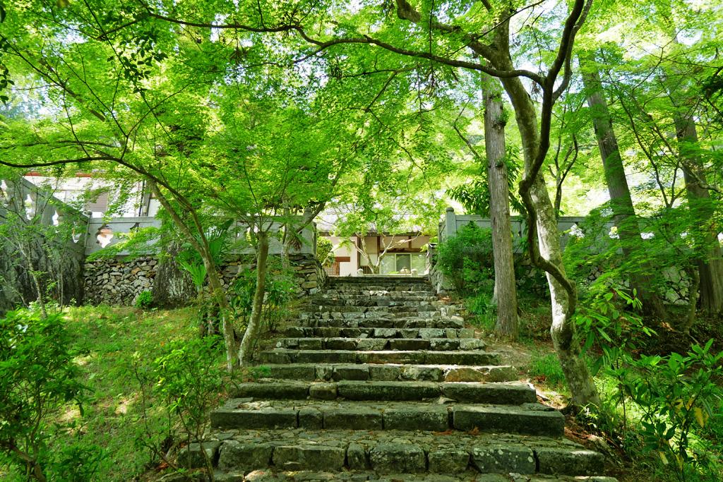 和束町 正法寺の写真素材