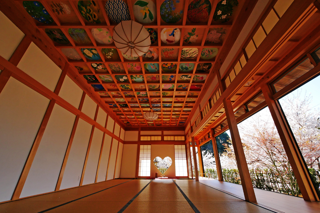 正寿院(宇治田原)のハートの写真素材
