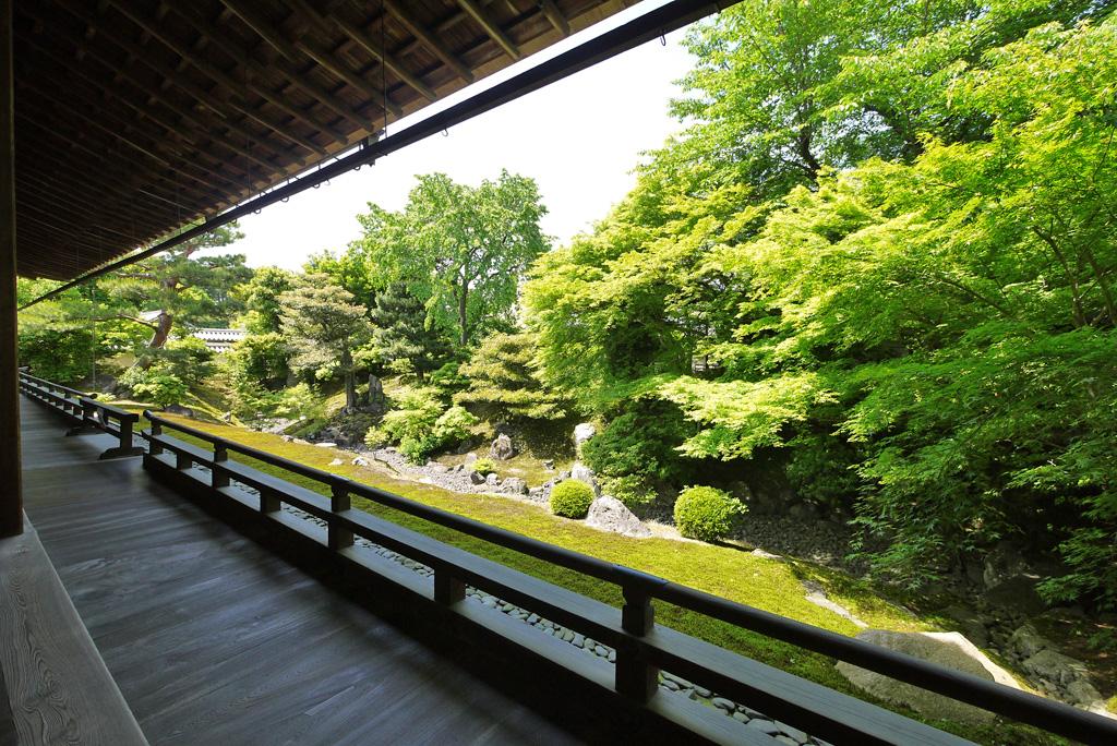 相国寺枯山水の写真素材