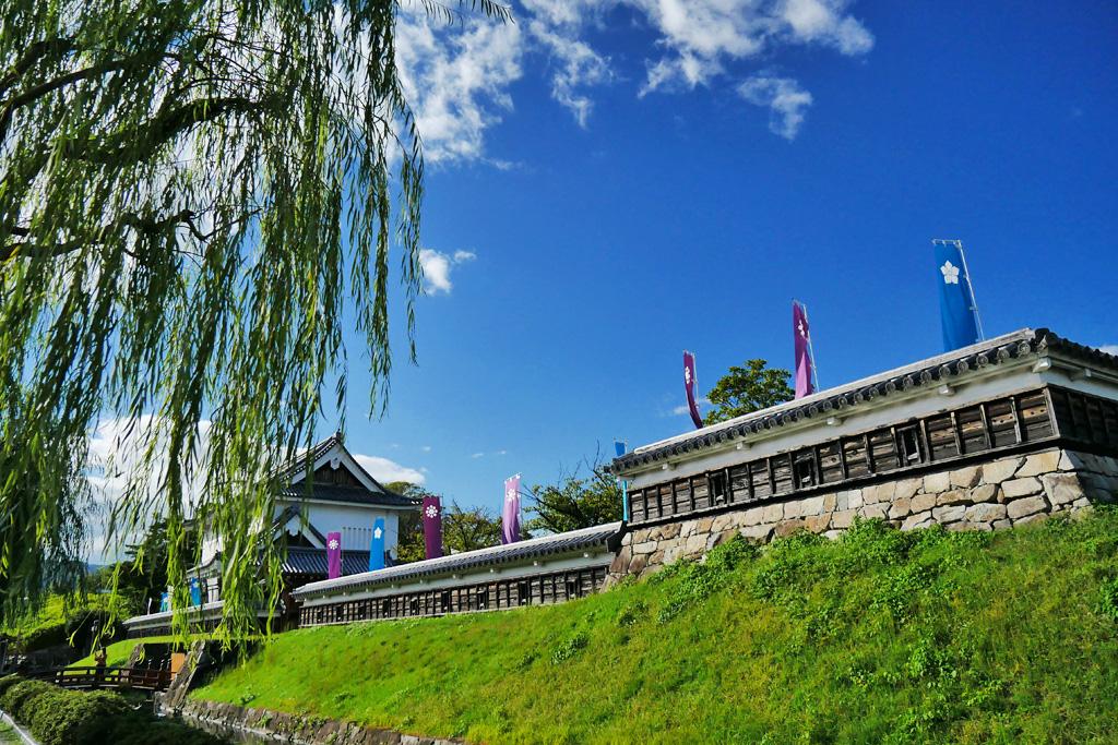 勝龍寺城の写真素材