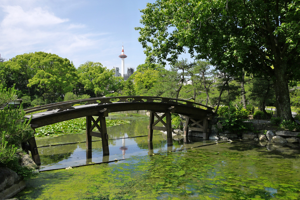 渉成園(枳殻邸)の写真素材