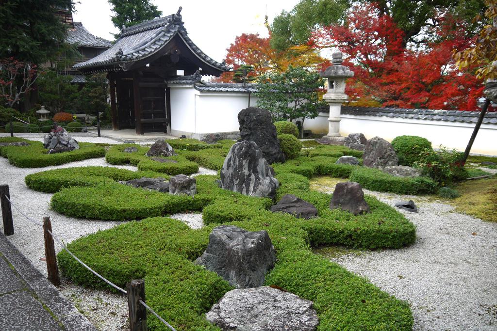 招善寺の庭