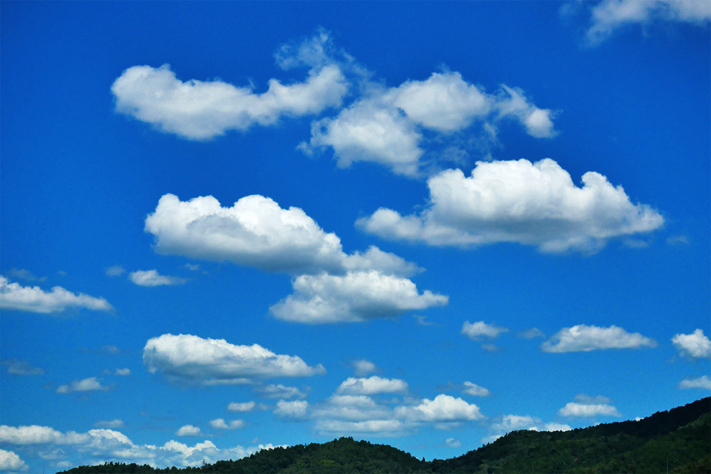 雲の写真素材