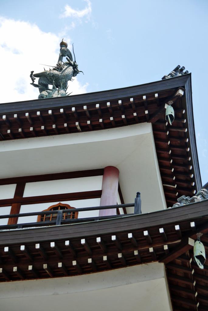 巣林寺の写真素材