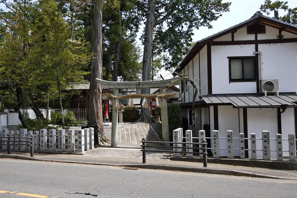 住吉大伴神社の写真素材