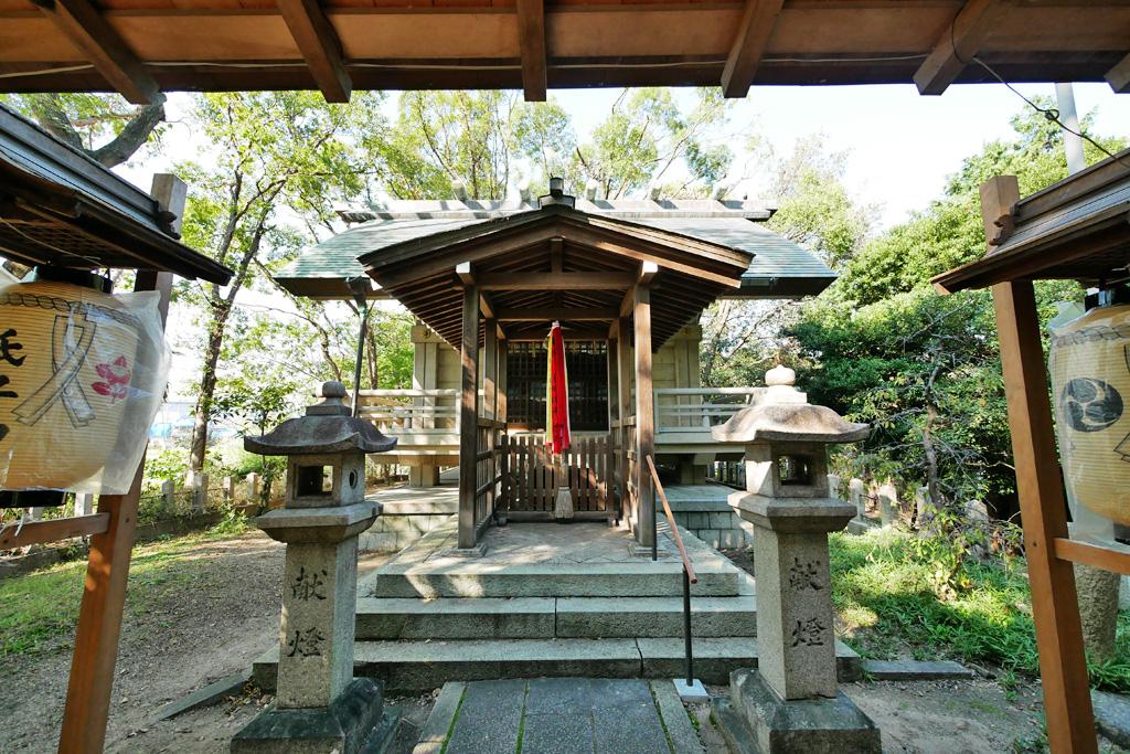 凉森神社の写真素材