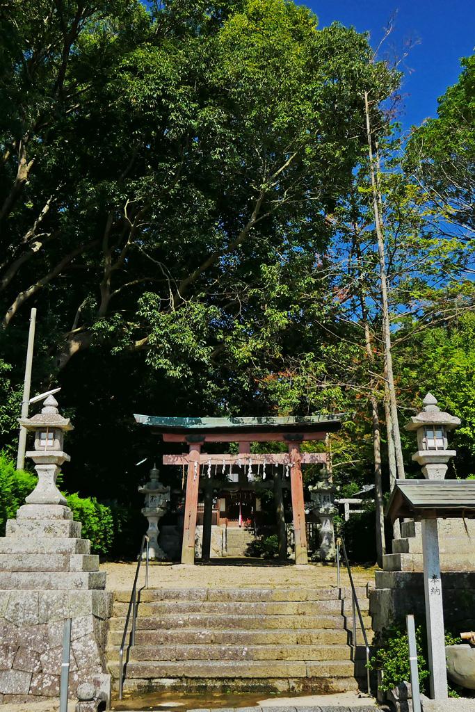 高倉神社の写真素材