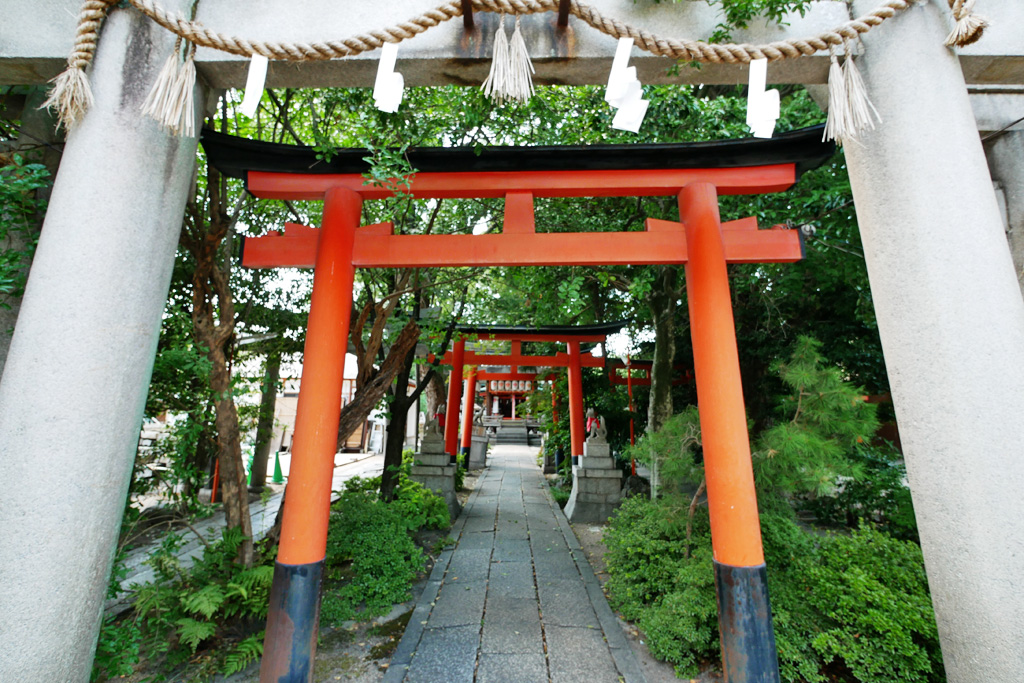 武信稲荷神社の写真素材