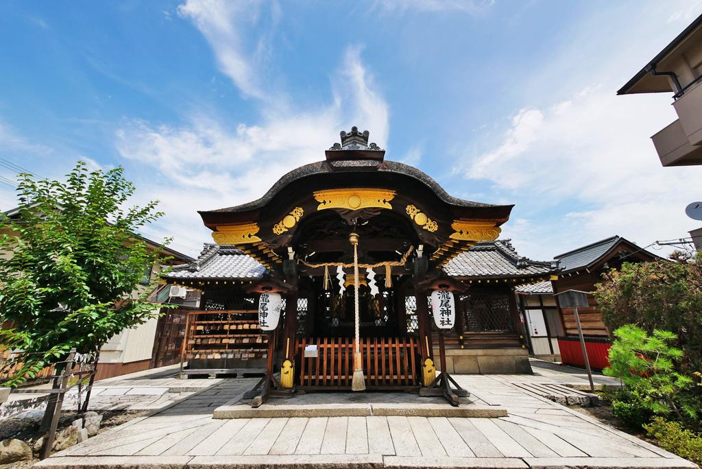瀧尾神社の写真素材