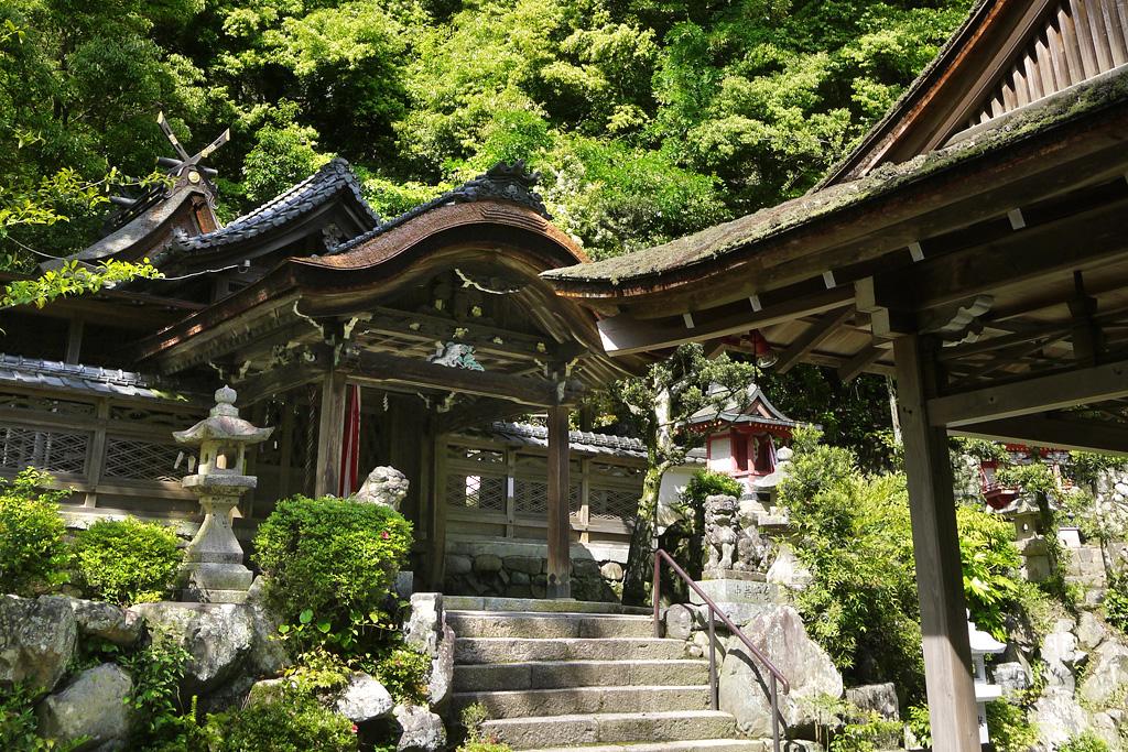 玉津岡神社の写真素材