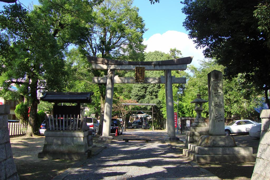 田中神社の写真素材