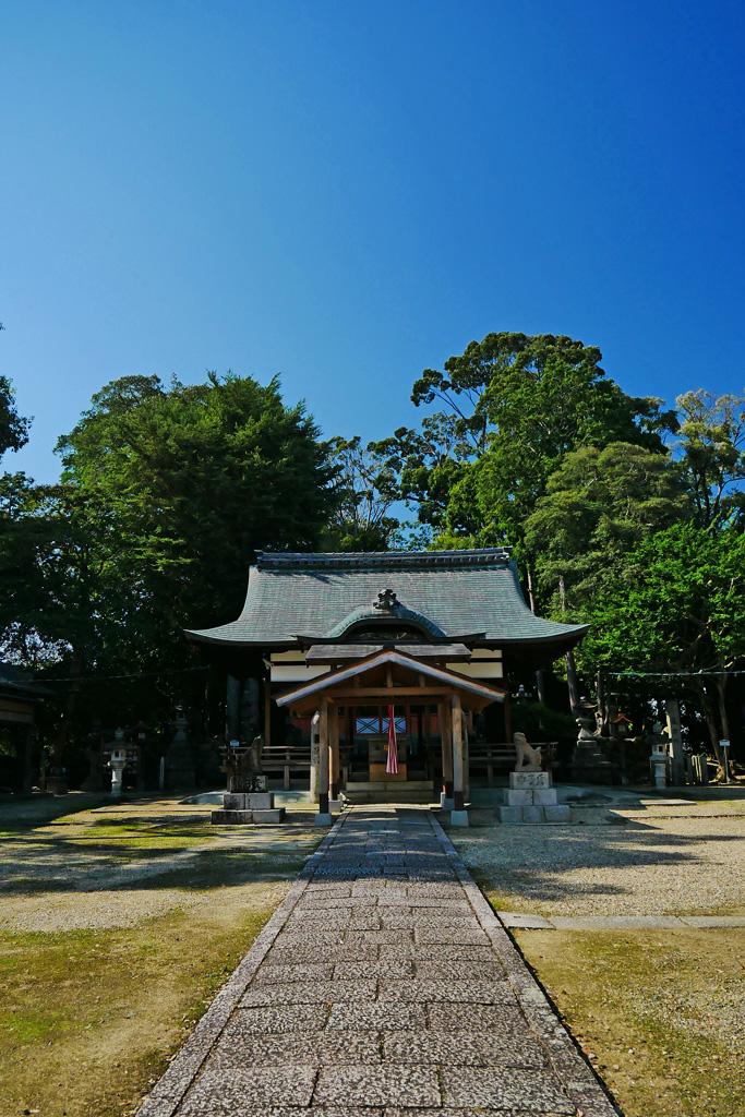 棚倉孫神社の写真素材