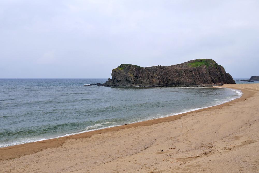 丹後半島の立岩