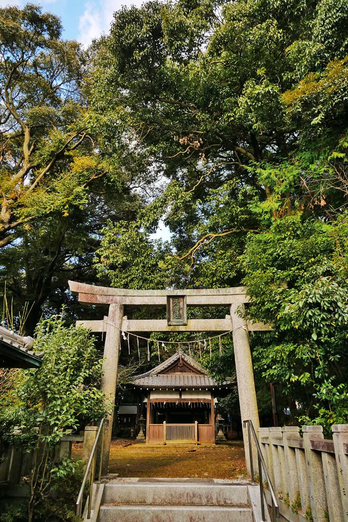 天神社(山科区)の写真素材