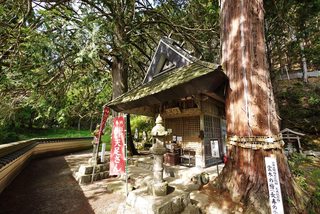 祥雲寺天足堂の写真素材