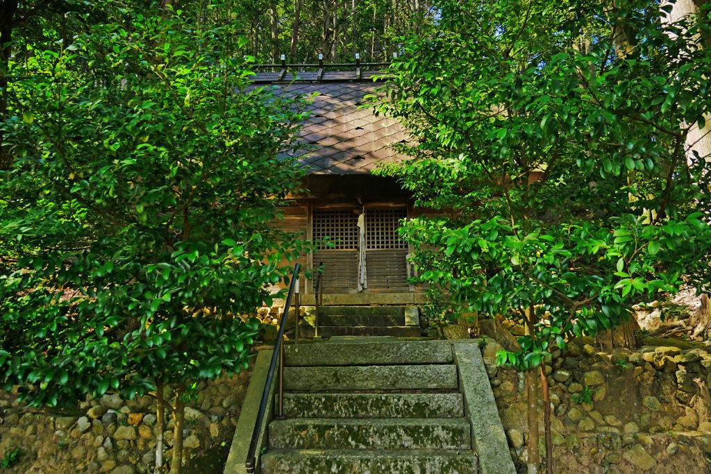 鳥羽田神社の写真素材
