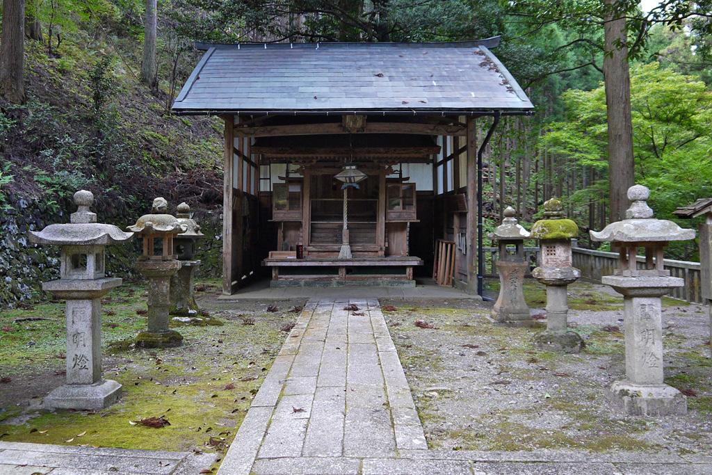 道風神社の写真素材