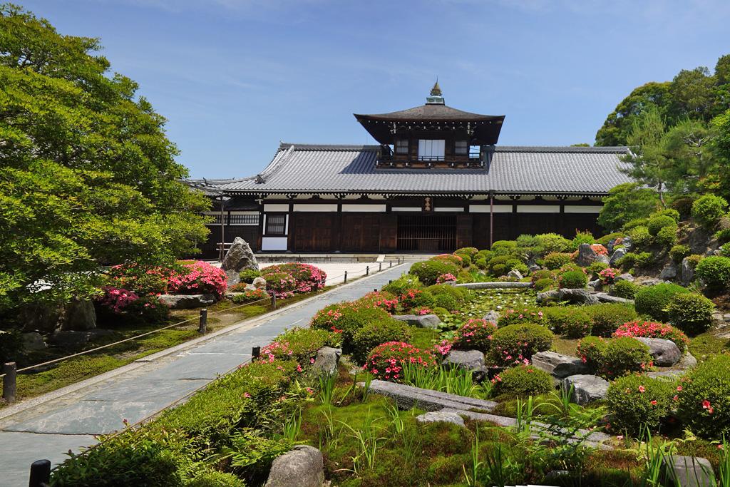 東福寺開山堂のサツキ