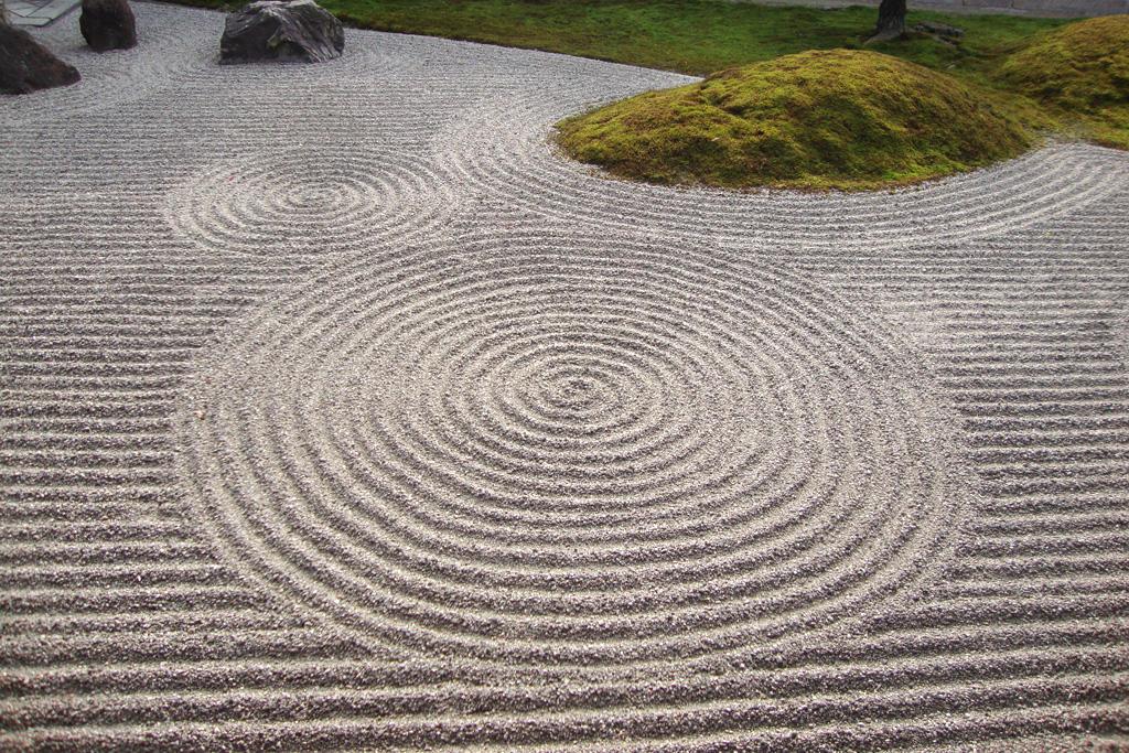 東福寺方丈庭園の写真素材