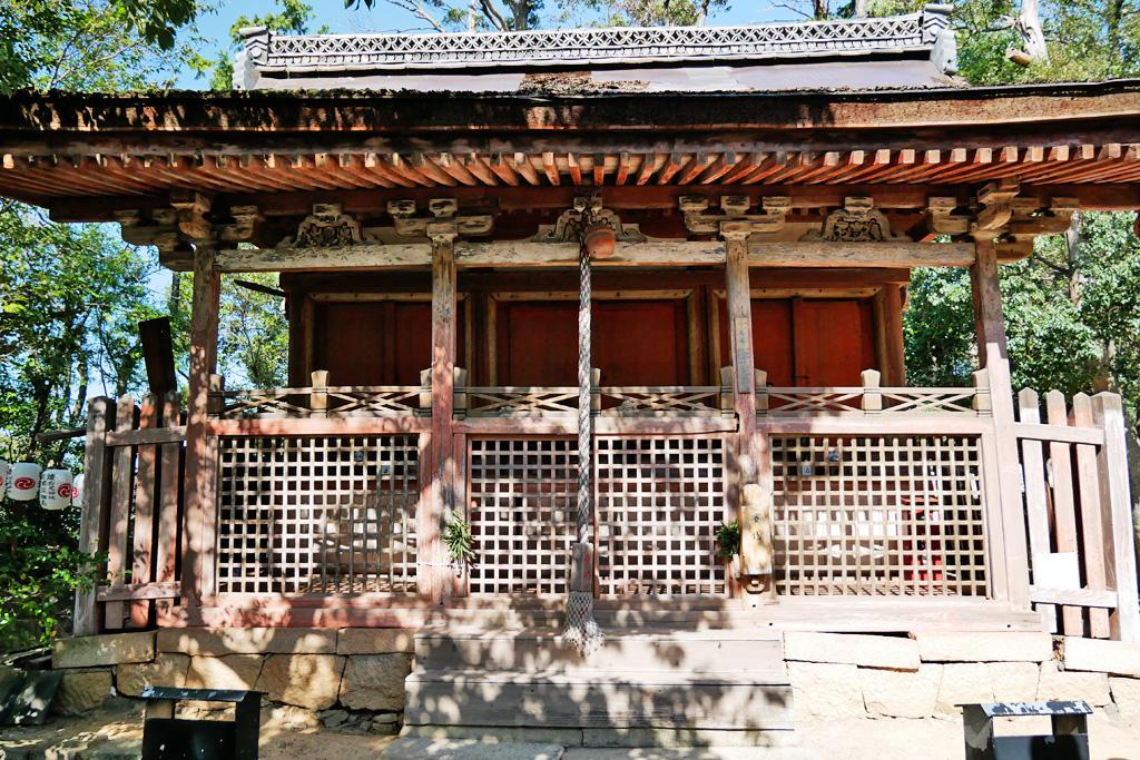 狩尾神社の写真素材