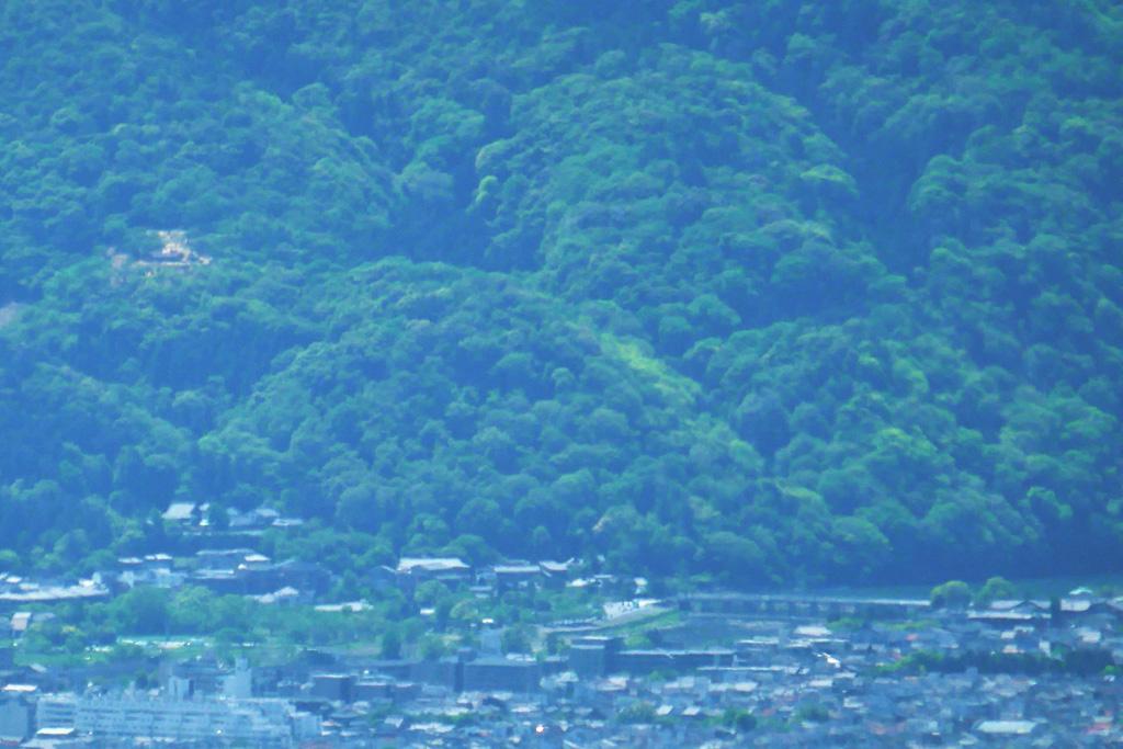 嵐山渡月橋の写真素材