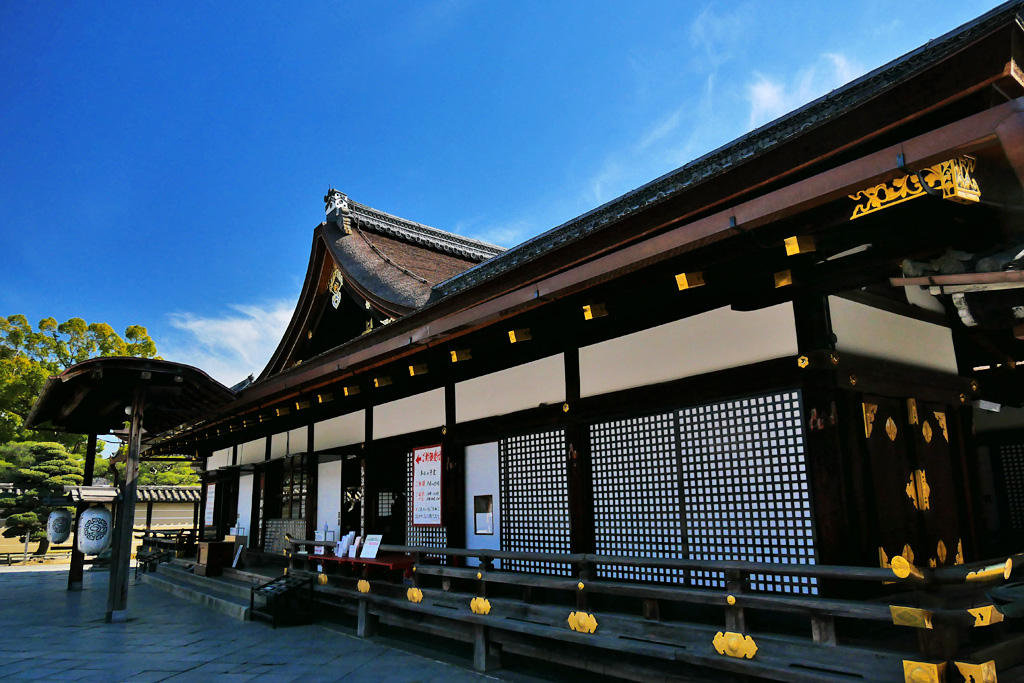 東寺の大師堂 写真素材
