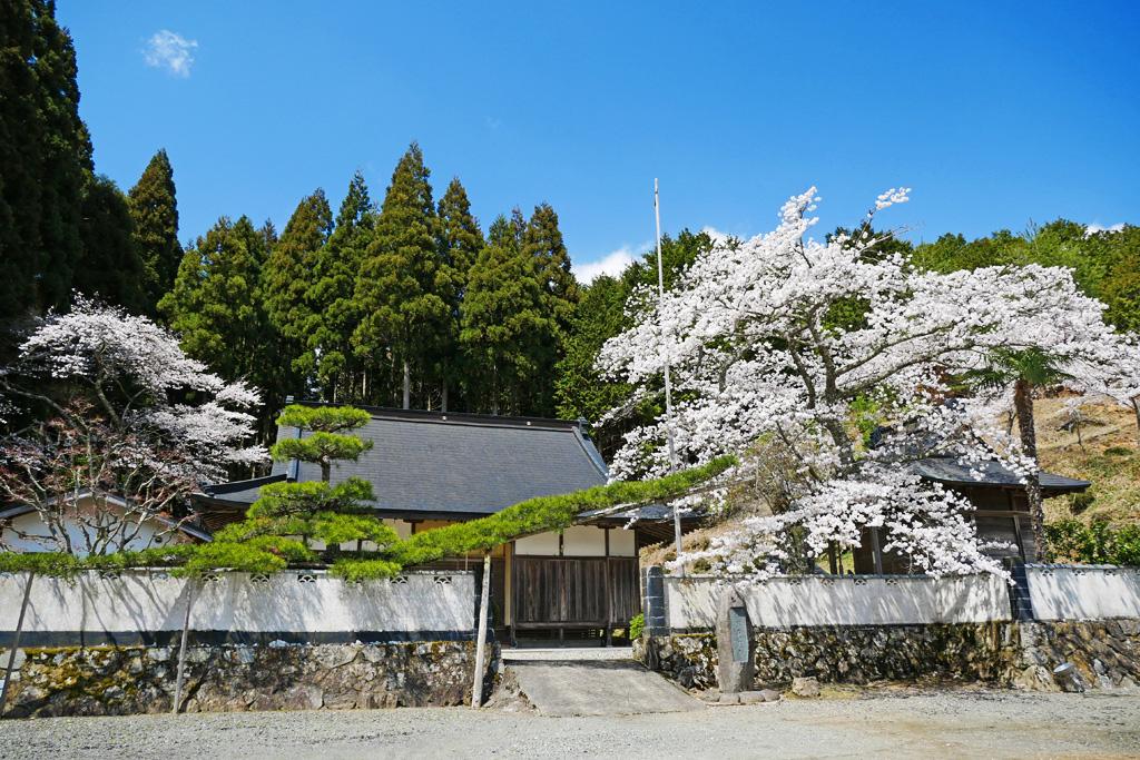 京北熊田町の東光寺の写真素材