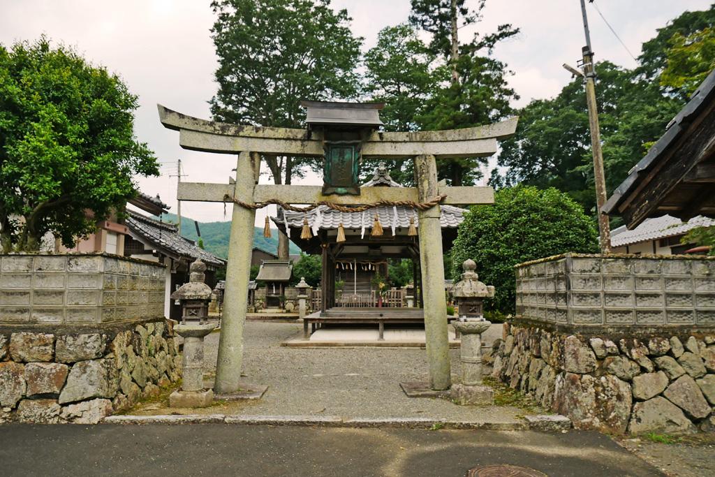 月読神社(船岡)の写真素材