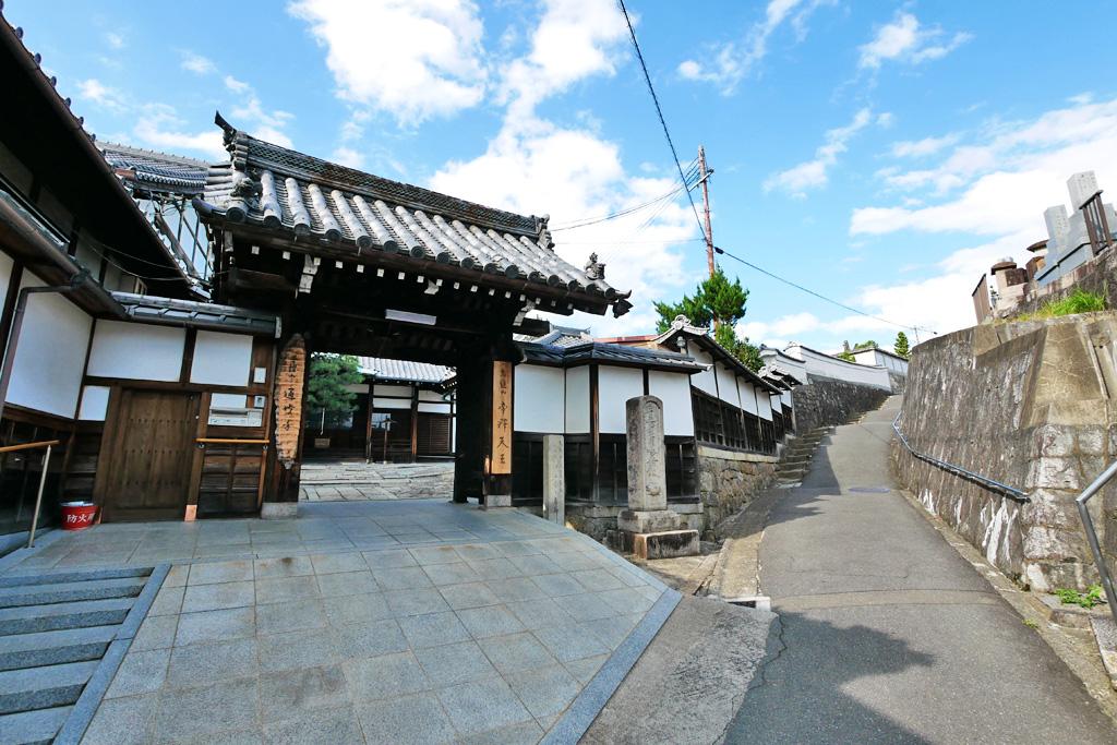 通妙寺の写真素材