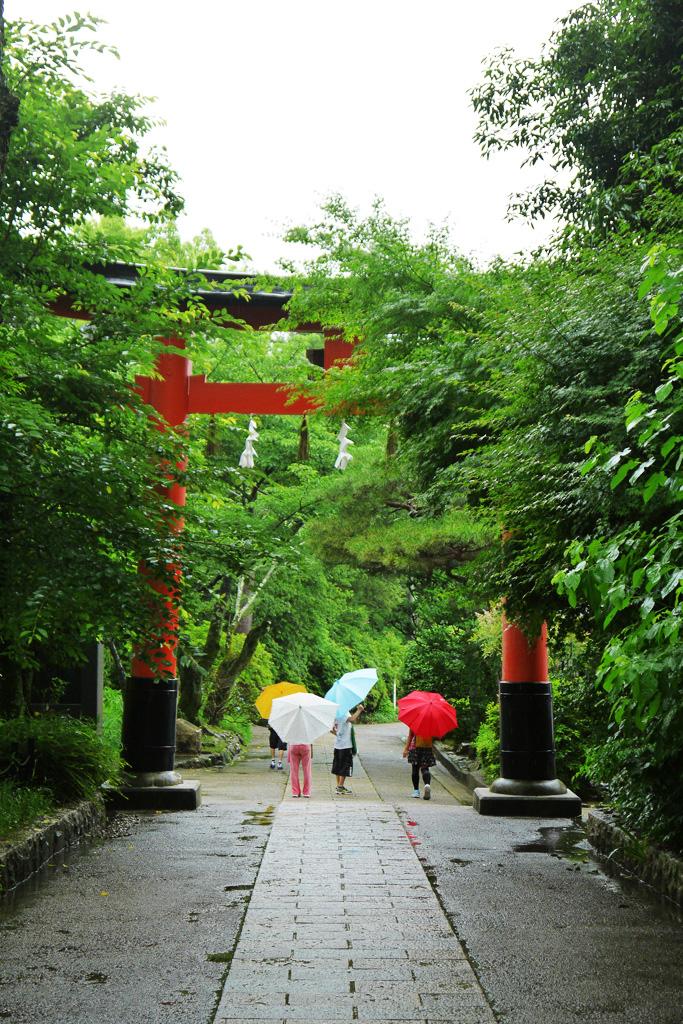 宇治上神社の写真素材